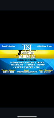 Avatar for T&JPressureWashingLLC