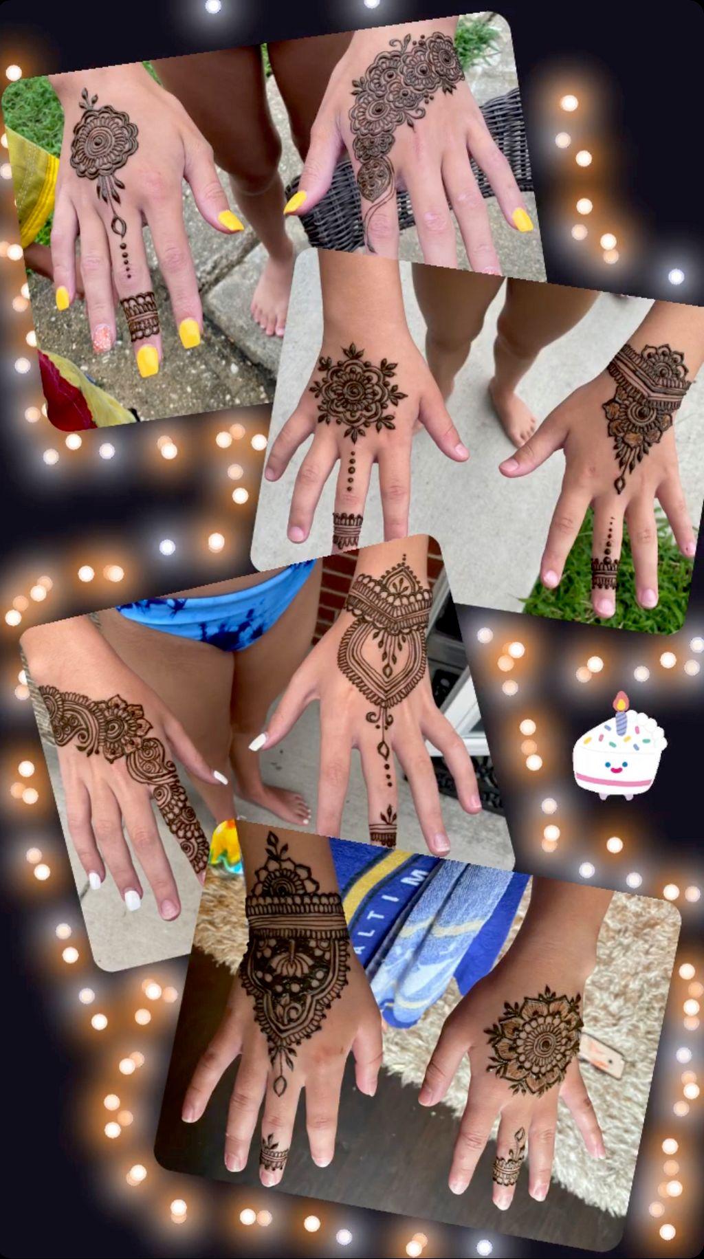 Party Henna