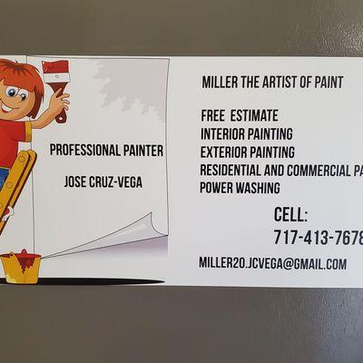 Avatar for Miller The Artist of Paint