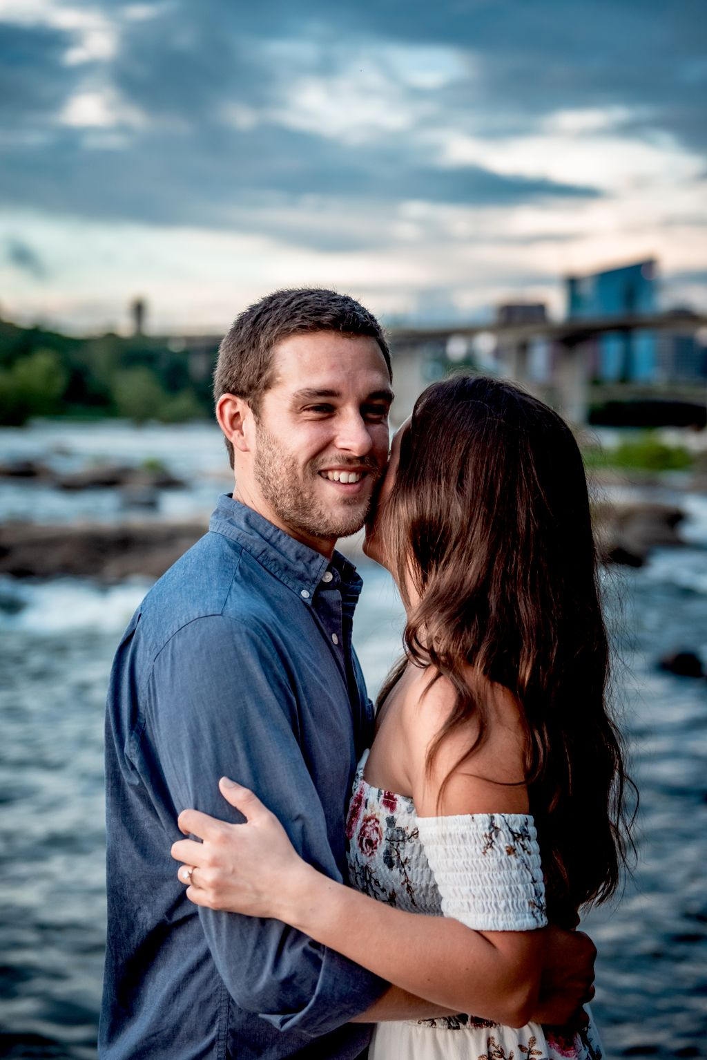 Belle Isle Engagement Photos