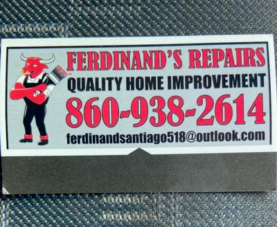 Avatar for Ferdinand's repairs +cleaning services