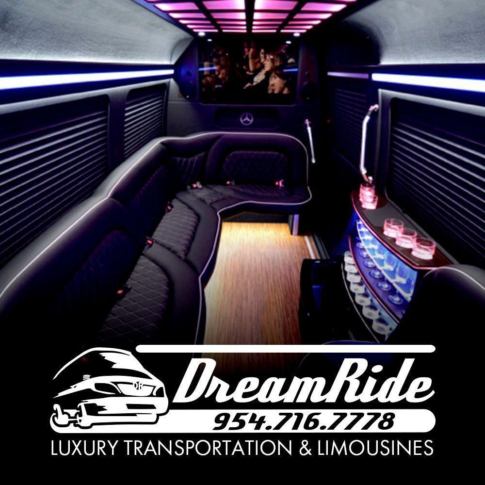 DreamRide PartyBus Limo Sprinter dreamridellc