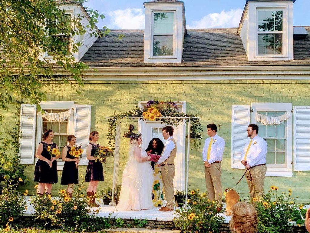 Sunflower Country Wedding