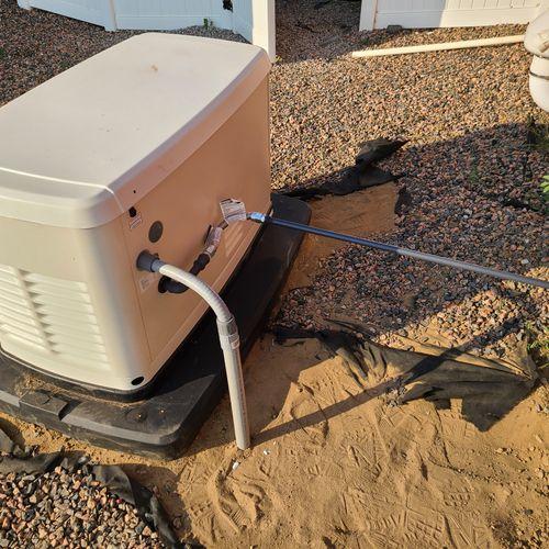 Generator Install 08/30/2020