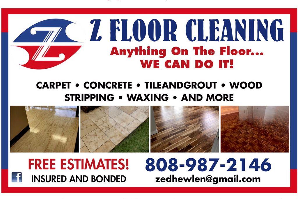 Z Floor Cleaning LLC -UT