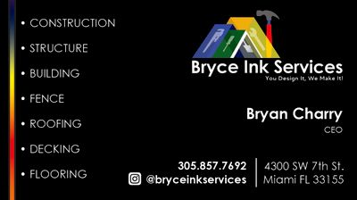 Avatar for Bryce Ink Services LLC