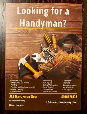 Avatar for JLS Handyman Now NY