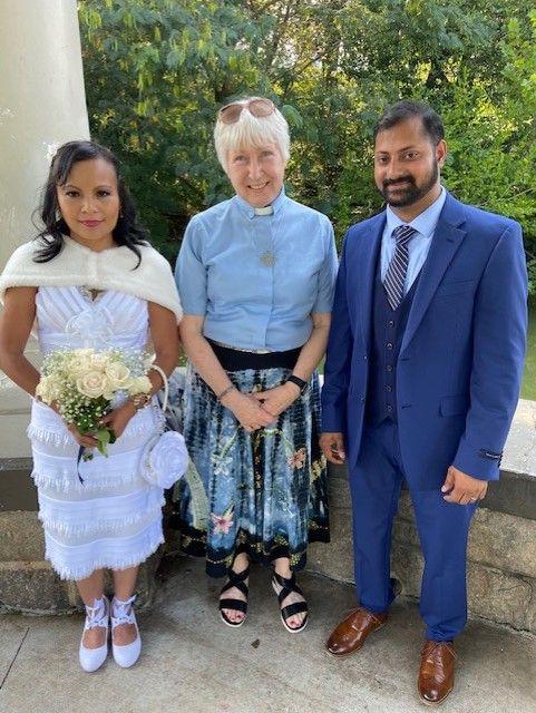 A summer afternoon wedding at Piedmont Park