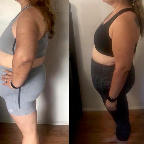 8 week progress