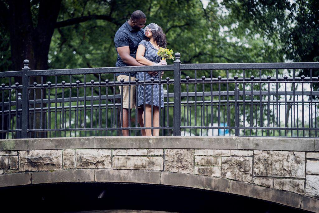 Erica and Joseph engagement and wedding