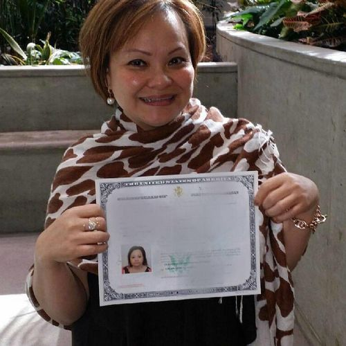 After several long years of fighting for justice we accomplished what we fought so hard to get! US citizenship!