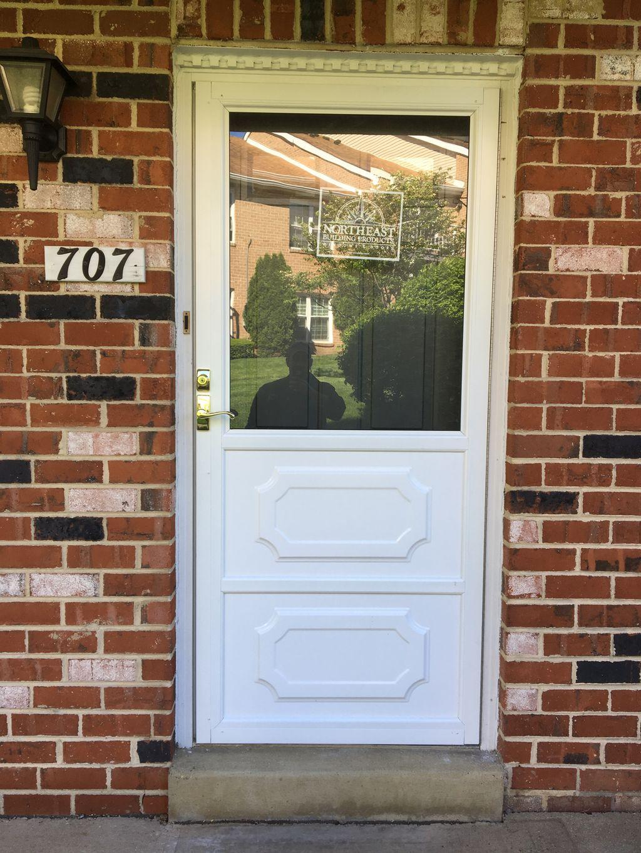 Elkins Park Storm Door Installation