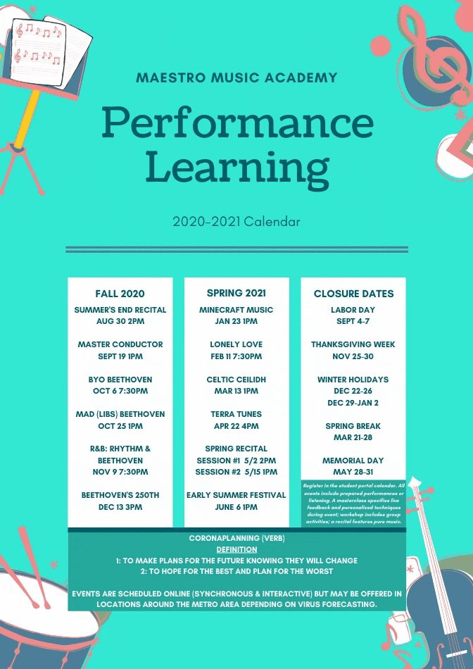 Composition & Performance Learning