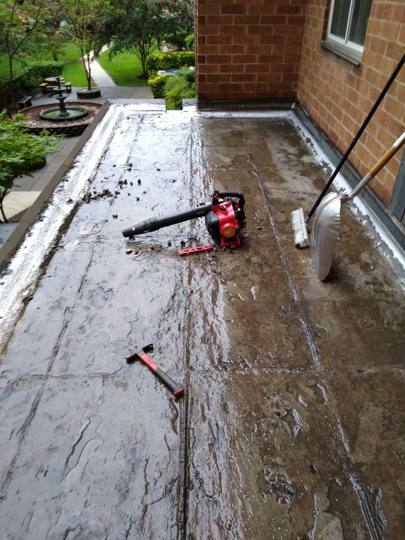 Tpo heat seemed flat roof application