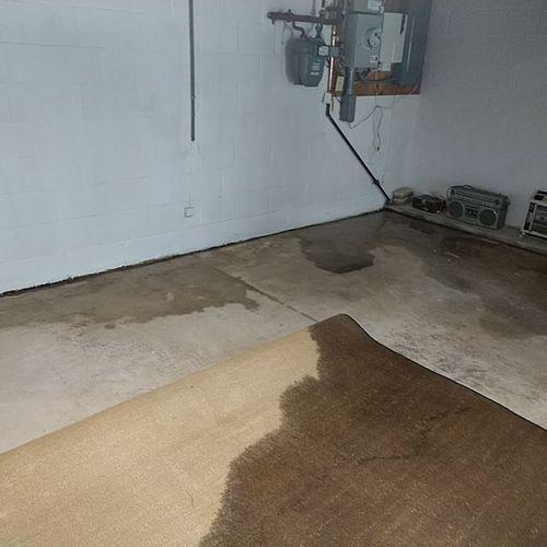 Leaking Basement