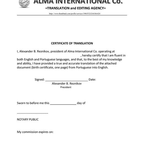 A sample of my Certificate of Authenticity (COA) for my Portuguese-speaking customers. Personal data omitted.