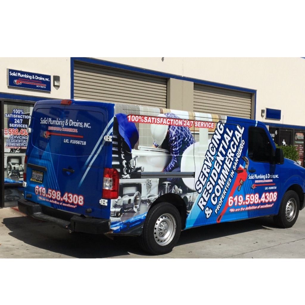 Solid plumbing & drains inc