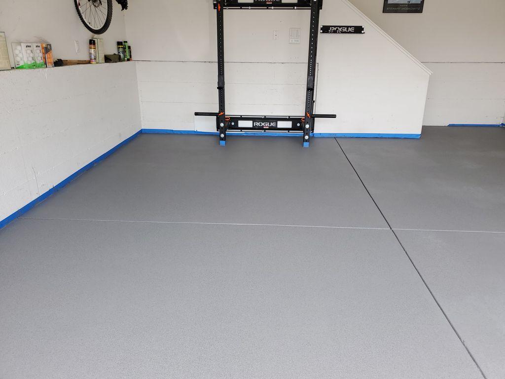 Anti Slip Garage floor