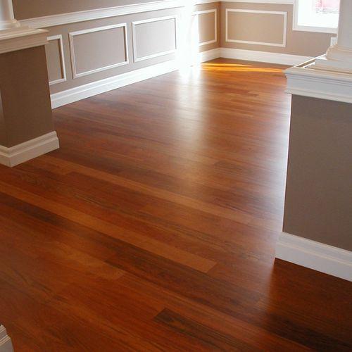prefiniahed flooring installation