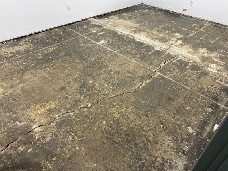5 office floor preparation