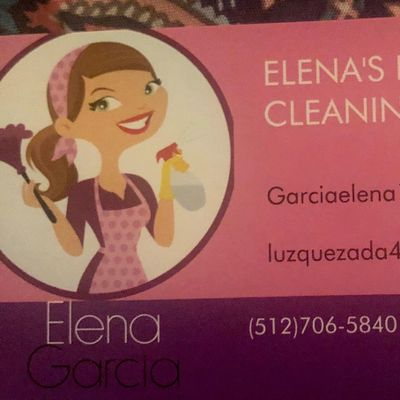 Avatar for Elena's house cleaning services