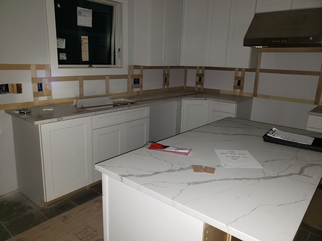 New countertop