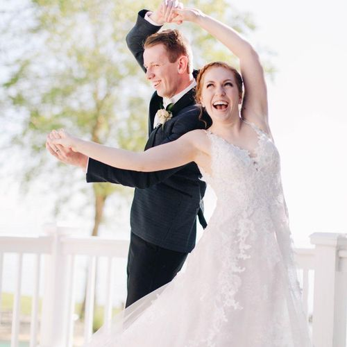 Learning to dance in COVID was a fun challenge for this couple!