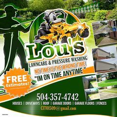Lou's lawn care & pressure washing service