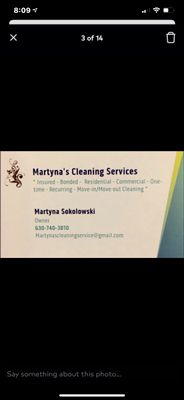 Avatar for Martyna's Cleaning Services