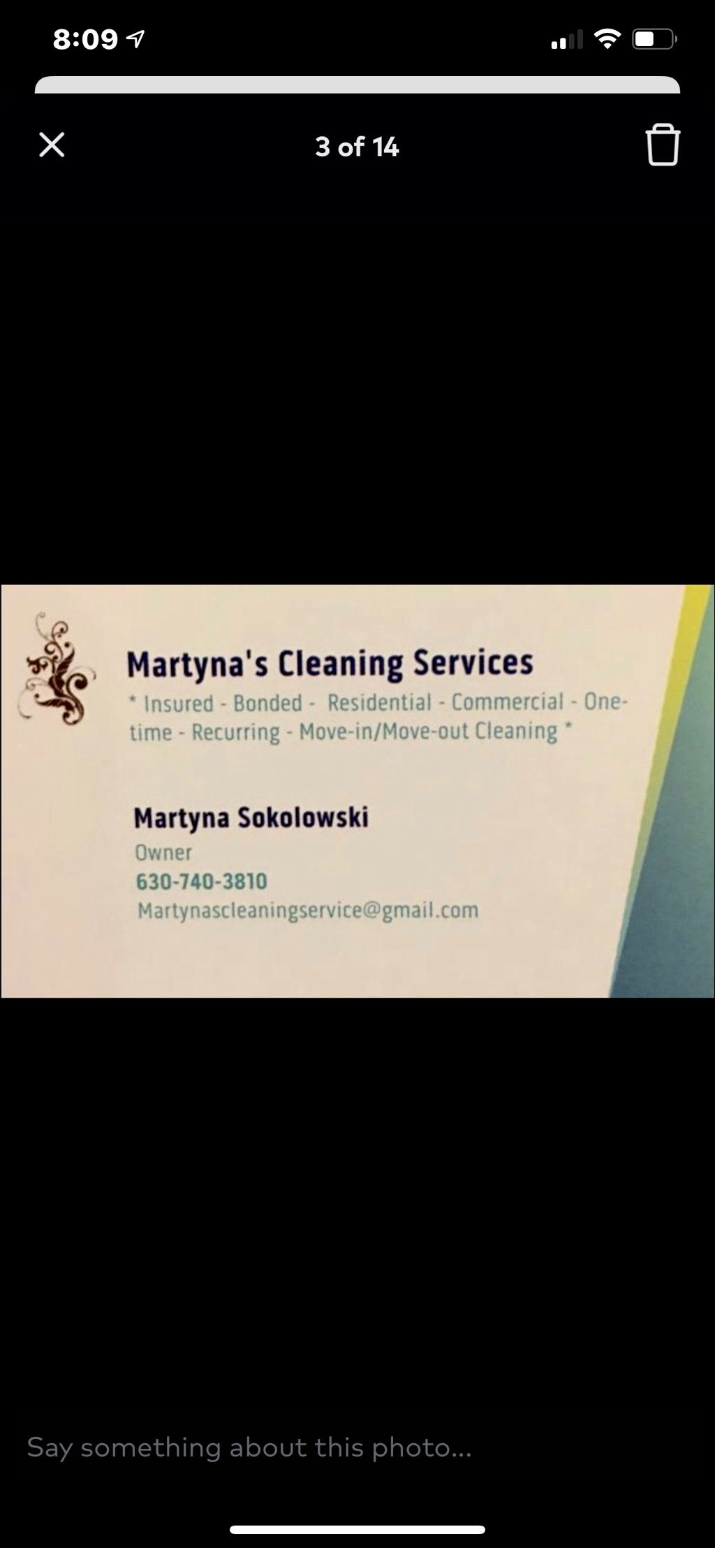 Martyna's Cleaning Services