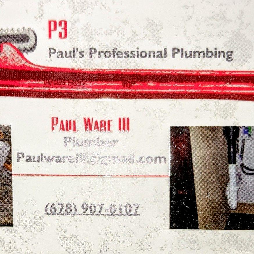 Paul's Profesional Plumbing