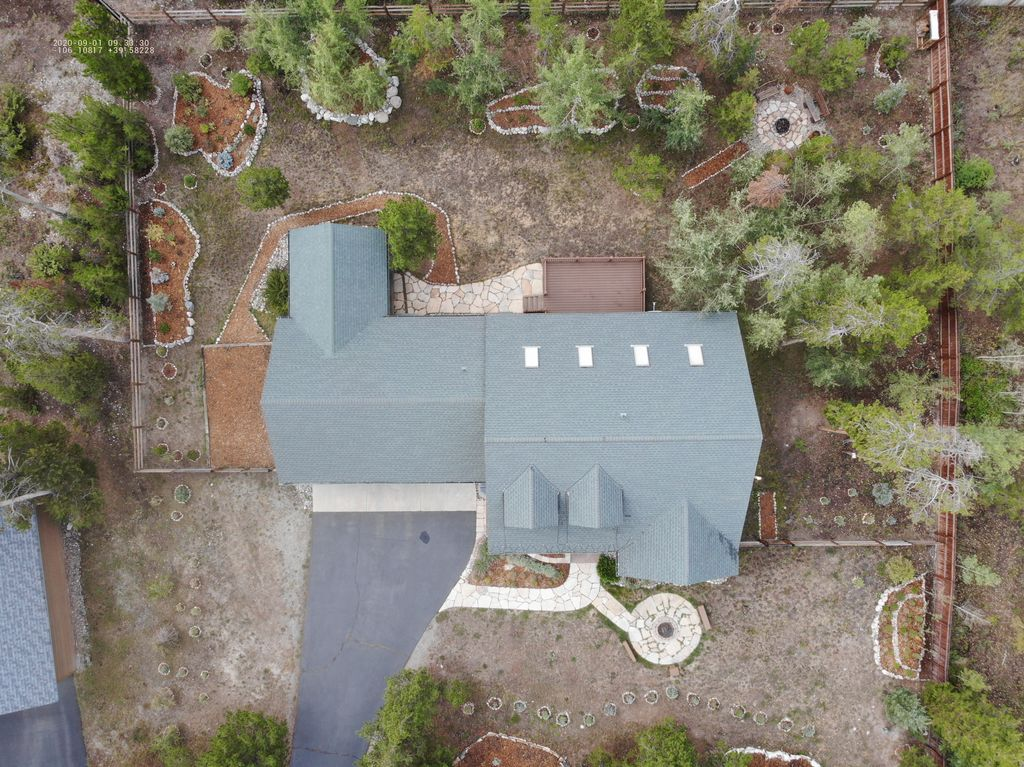 Aerial Photography To Accompany Roof Inspection