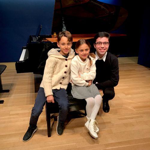 Studio recital - back in early 2020!