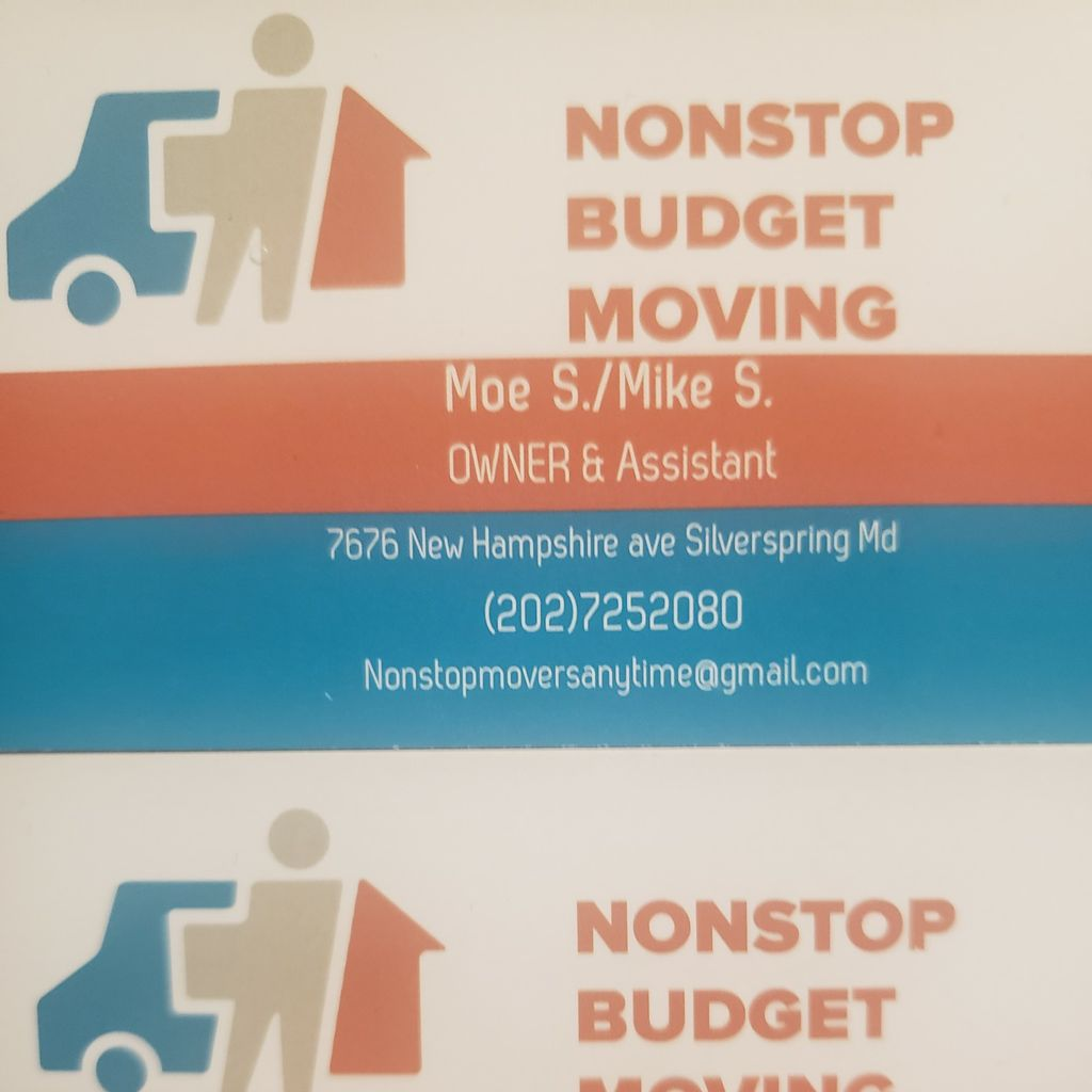 NONSTOP BUDGET MOVING