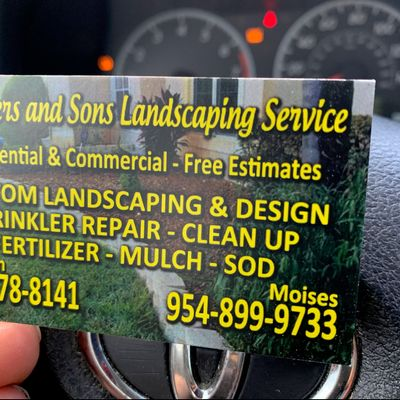Avatar for Brother and son landscaping