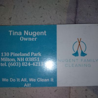 Avatar for Nugent Family Cleaning