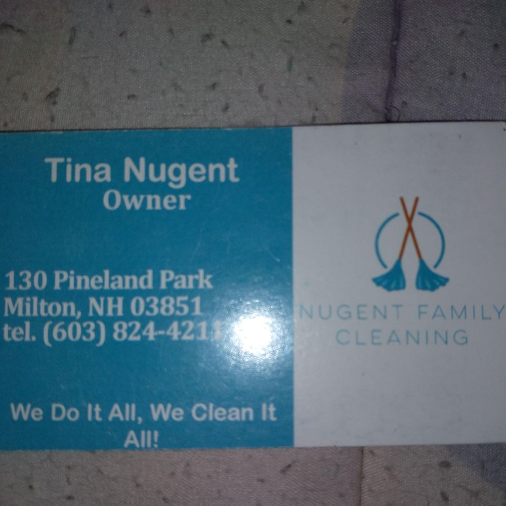 Nugent Family Cleaning