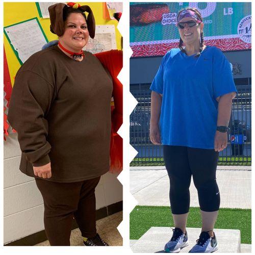 Starting Weight 315/9 Month Progress Photo 226 lbs