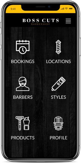 Boss Cuts Mobile App