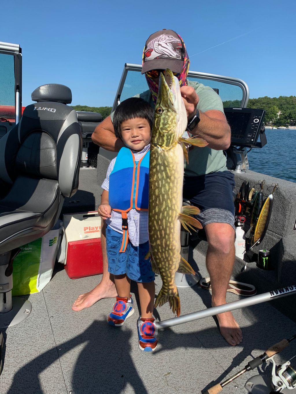 Pike and Walleye Trip