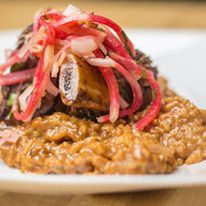 Braised Short Rib with Risotto