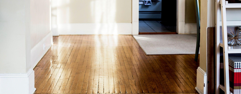hardwood floors in home