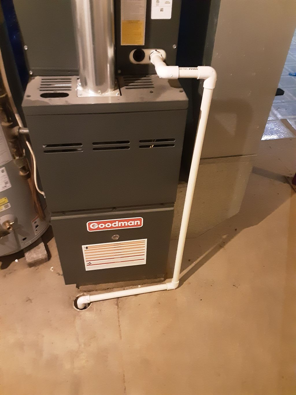 Heating ,cooling water heater