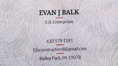 Avatar for E.B. Construction