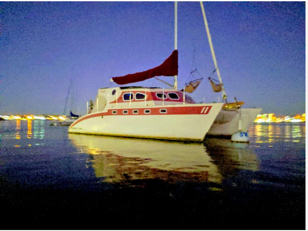 Wedding on a boat with overnight accommodations