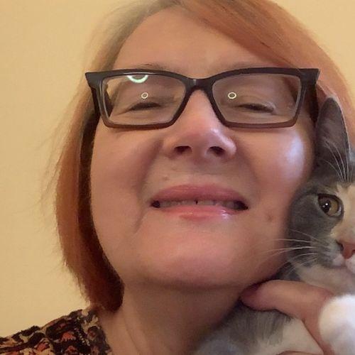 Nouvelle étudiante et son joli chat !