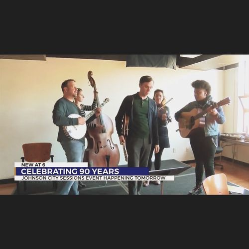 On the news before the Johnson City Sessions in the fall of 2019.