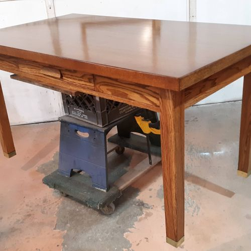 Oak Desk - refinished