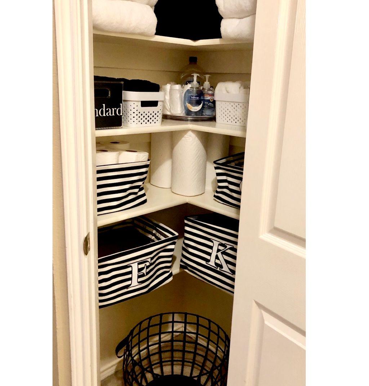 Linen Closet Facelift