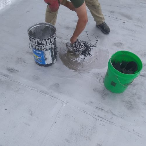 Rubber Roof Sealing Stack